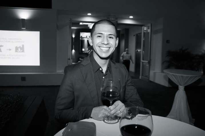 Photographer Juan Aguero at Mezzacorona & Stemmari Wines' Holiday 2014 Wine Tasting, Rooftops on Ponce