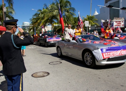Veteran's Day on Miami Beach, 2014