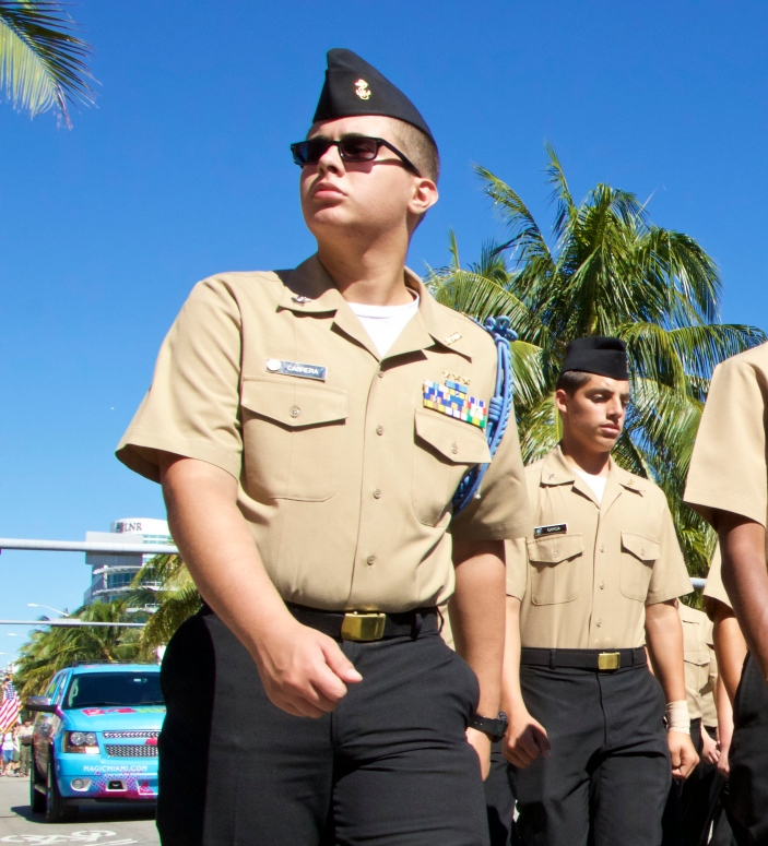 Veteran's Day on Miami Beach, 2014