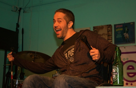 "Chris TOpher (yes, capital ""TO"") - Casa De Haha @ Sweat Records - Miami"