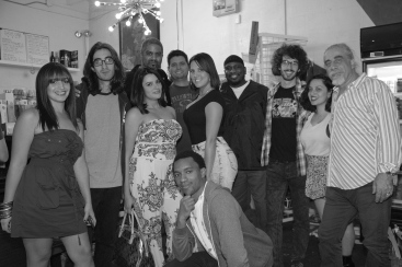 The Gang's all here - Casa De Haha @ Sweat Records - Miami
