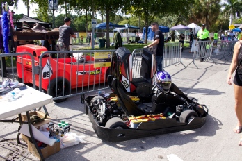 Pit Stop - The 6th Annual Great Grove Race - Miami, 2014
