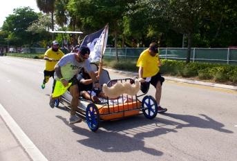 """""""RUN, DARNIT! RUN!!"""" The 6th Annual Great Grove Race - Miami, 2014"""