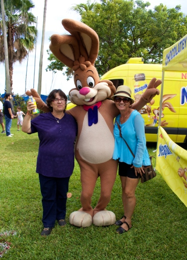 Who doesn't love chocolate milk? The 6th Annual Great Grove Race - Miami, 2014