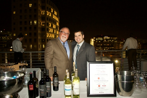 Mezzacorona & Stemmari Wines' Holiday 2014 Wine Tasting at Rooftops on Ponce