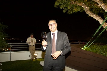 Lucio Matricardi, head winemaker - Mezzacorona & Stemmari Wines' Holiday 2014 Wine Tasting at Rooftops on Ponce
