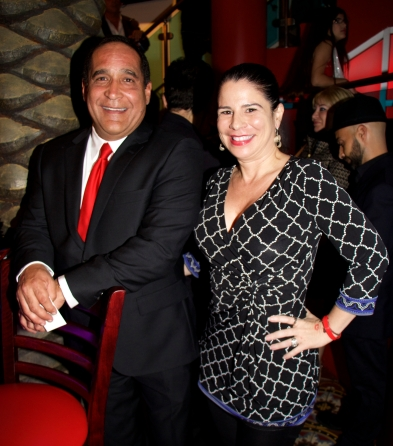 Commissioner Joe Martinez with his trademark smile, enjoying the evening at the Glory House of Miami Fundraiser @ La Bodeguita, Coral Gables