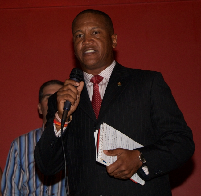 Homeland Security Special Agent Victor Williams at the Glory House of Miami Fundraiser @ La Bodeguita, Coral Gables