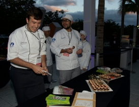 Tuyo Restaurant's DEEE-LISH confections @ Taste of Miami 2015