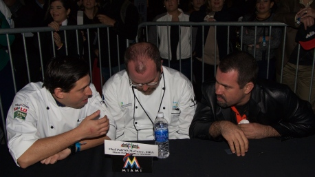 The Judges Deliberate @ Taste of Miami 2015